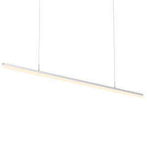 Stiletto Satin Aluminum 72-Inch LED Pendant