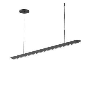 Glide Satin Black 40-Inch LED Pendant