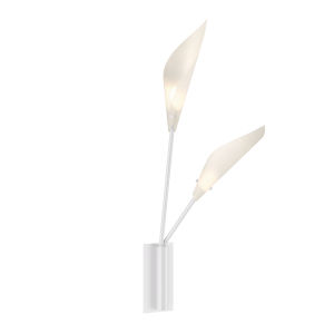 Calla Satin White 6-Inch LED Wall Sconce