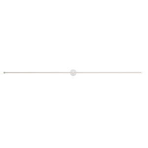 Purolinear 360 Satin Chrome 97-Inch Two-Light Double Linear LED Wall Bar
