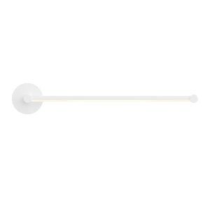 Purolinear 360 Satin White 25-Inch LED Single Linear LED Wall Bar