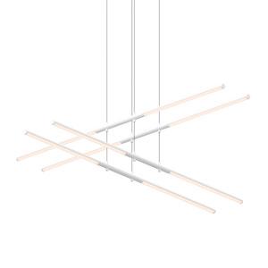 Tik-Tak Satin White LED 47.5-Inch Pendant