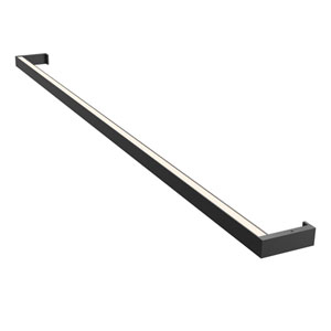Thin-Line Satin Black LED 48-Inch Wall Bar