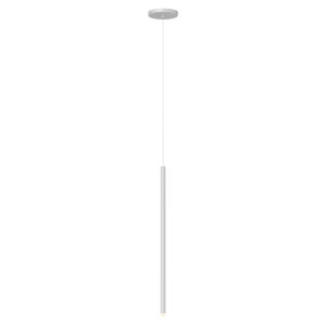 Light Chimes Satin White 24-Inch LED Mini Pendant