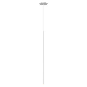 Light Chimes Satin White 32-Inch LED Mini Pendant