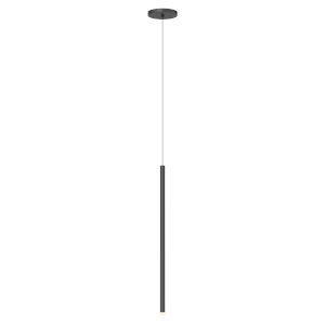 Light Chimes Satin Black 24-Inch LED Mini Pendant
