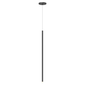 Light Chimes Satin Black 32-Inch LED Mini Pendant