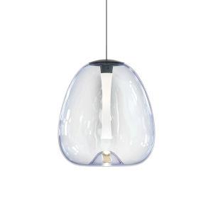 Mela Satin Black 10-Inch LED Pendant