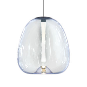 Mela Satin Black 14-Inch LED Pendant
