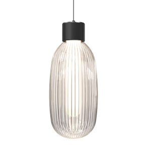 Friso Satin Black LED Pendant