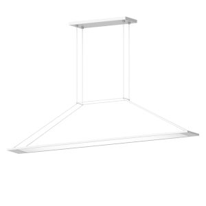 Perfile Satin White LED Pendant