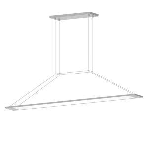 Perfile Bright Satin Aluminum LED Pendant