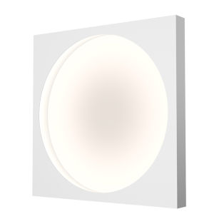 Vuoto Satin White 20-Inch LED Sconce