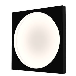 Vuoto Satin Black 20-Inch LED Sconce