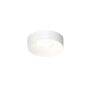 Ilios Satin White 10-Inch LED Flush Mount