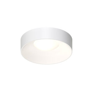 Ilios Satin White 14-Inch LED Flush Mount