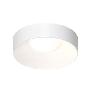 Ilios Satin White 18-Inch LED Flush Mount