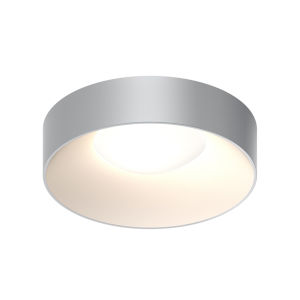 Ilios Dove Gray 18-Inch LED Flush Mount