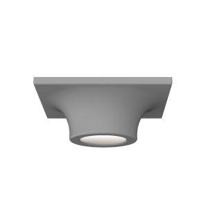 Dove Gray LED Flush Mount