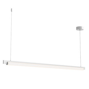 Keel Satin White 60-Inch LED Pendant