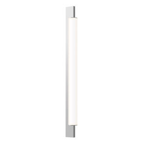 Keel Bright Satin Aluminum 22-Inch LED Bath Bar