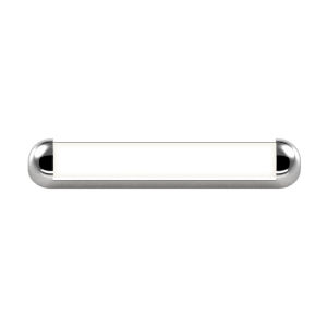 Radio Polished Chrome 18-Inch LED Bath Bar