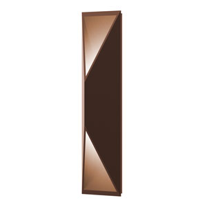 Prisma Textured Bronze LED 5-Inch Wall Sconce