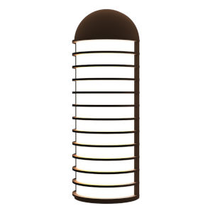 Lighthouse Textured Bronze LED Sconce