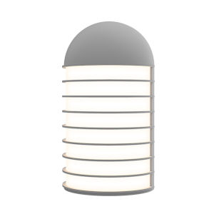 Lighthouse Textured Gray Big LED Sconce