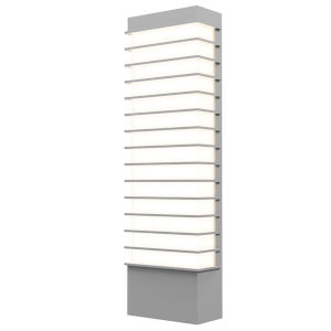 Tawa Textured Gray 21-Inch LED Sconce