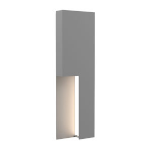 Incavo Textured Gray 20-Inch Two-Light LED Sconce