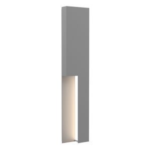 Incavo Textured Gray 30-Inch Two-Light LED Sconce
