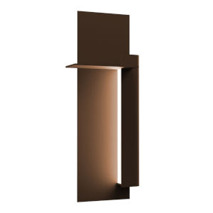 Backgate Textured Bronze 20-Inch Right LED Sconce