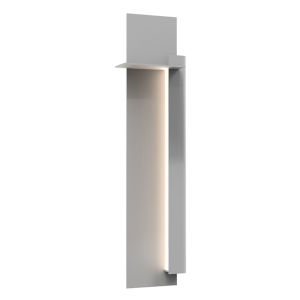 Backgate Textured Gray 30-Inch Right LED Sconce