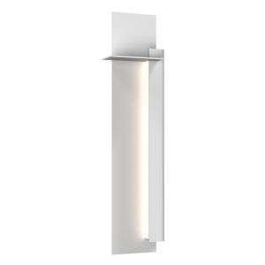 Backgate Textured White 30-Inch Right LED Sconce