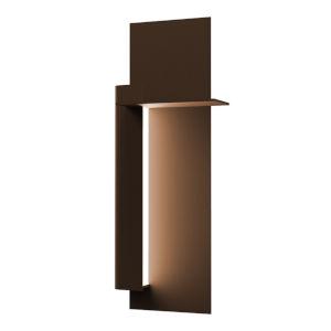 Backgate Textured Bronze 20-Inch Left LED Sconce