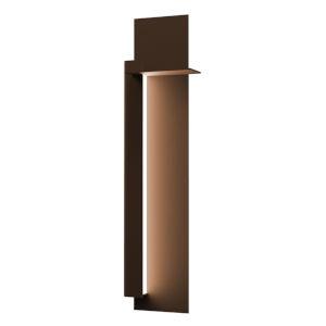 Backgate Textured Bronze 30-Inch Left LED Sconce