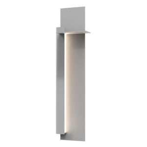 Backgate Textured Gray 30-Inch LED Sconce