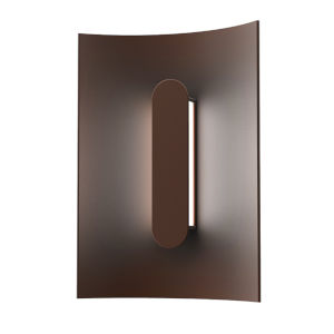 Tairu Textured Bronze 8-Inch LED Sconce