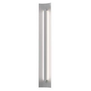Tairu Textured Gray 36-Inch LED Sconce