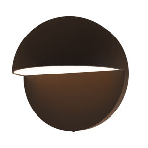 Mezza Cupola Textured Bronze 5-Inch LED Sconce