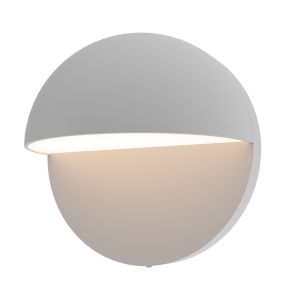 Mezza Cupola Textured Gray 5-Inch LED Sconce