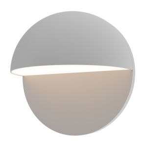 Mezza Cupola Textured Gray 8-Inch LED Sconce