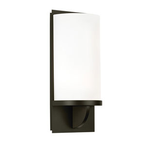 Ovulo Black Bronze Two-Light Wall Sconce