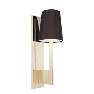 Sottile Polished Nickel One-Light Wall Sconce