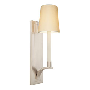 Curva Satin Nickel One-Light Wall Sconce