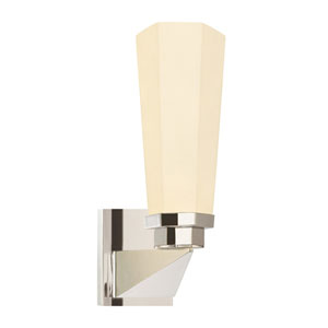 Forma Polished Nickel One-Light Wall Sconce