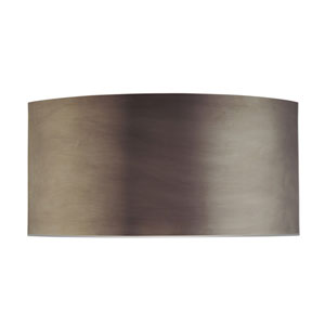 Dianelli Shield Rubbed Bronze Two-Light Wall Sconce