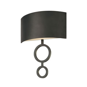 Dianelli 16-Inch Rubbed Bronze Sconce