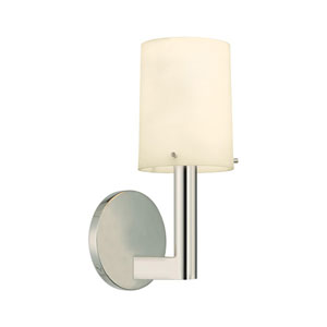 Calmo 4.5-Inch Polished Nickel Sconce
